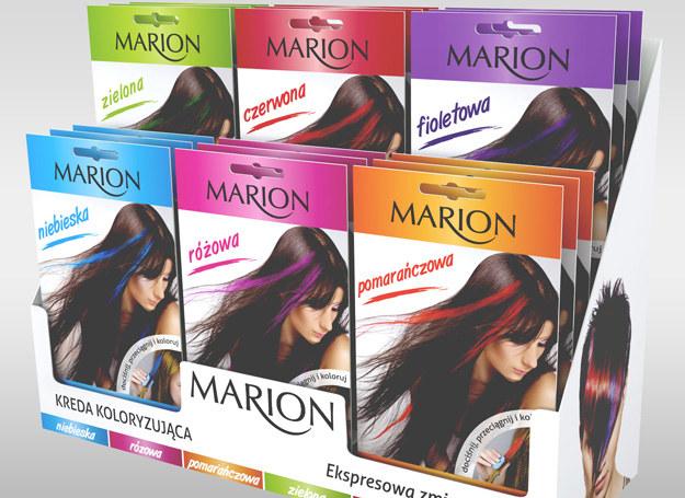 Kredy koloryzujące Marion /materiały prasowe