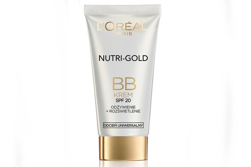 Krem BB Nutri Gold /materiały prasowe