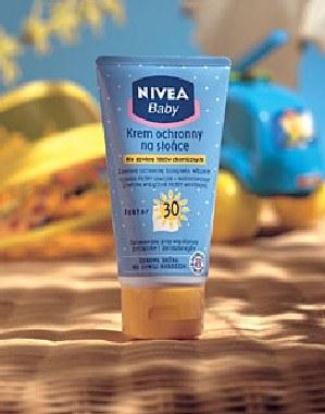 Krem ochronny na słońce NIVEA Baby /materiały prasowe