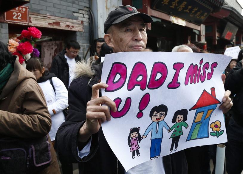 Krewni ofiar nie chcą zapomnieć o katastrofie /PAP/EPA