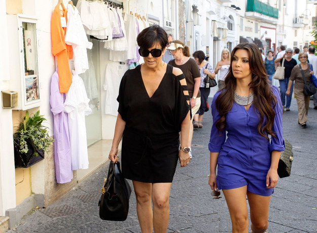 Kris Jenner i Kim Kardashian /Getty Images