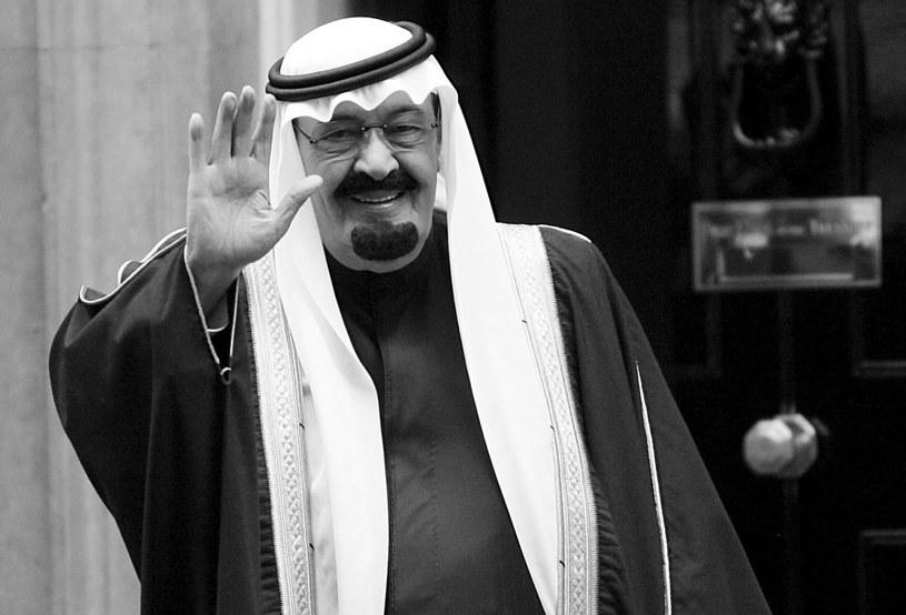 Król Abd Allah /PAP/EPA