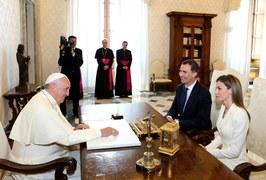 Król i królowa Hiszpanii z wizytą w Watykanie