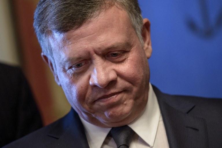 Król Jordanii Abdullah II /AFP