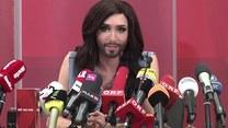 Królewskie powitanie Conchity Wurst w Wiedniu