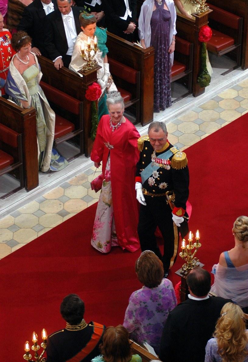 Królowa Małgorzata II z mężem /Jerry Bergman /East News