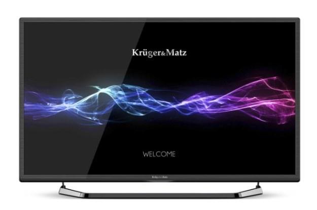 Kruger&Matz  wchodzi na rynek telewizorów /materiały prasowe