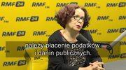 Kruk o abonamencie RTV: Obowiązkiem obywateli jest płacenie podatków i danin publicznych
