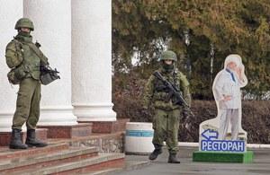Krym: Ukraińskie władze zamykają przestrzeń lotniczą nad Półwyspem Krymskim