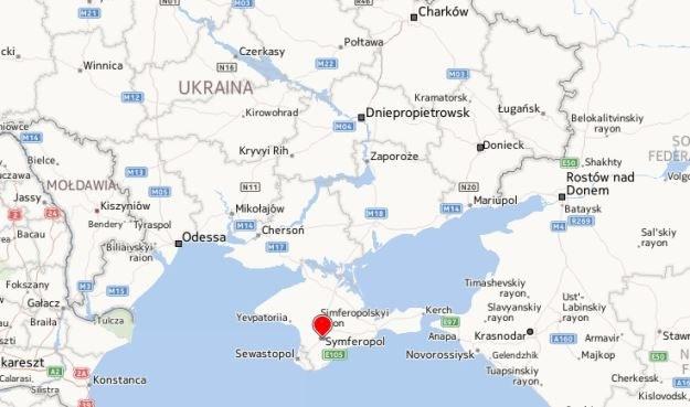 Krym /Mapy.interia.pl /INTERIA.PL