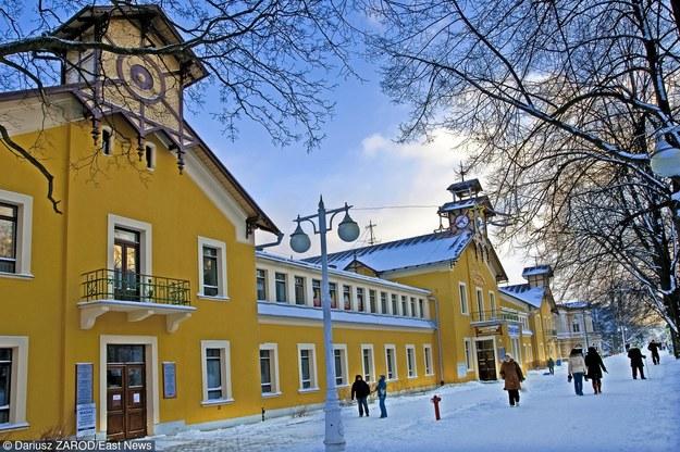 Krynica Zdrój zimą/fot. D. Zarod /East News