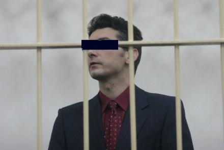 "Krystian B., autor  ""Amoku"" / fot. R. Witczak /Agencja SE/East News"