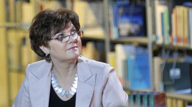 Krystyna (Agnieszka Kotulanka) będzie bardzo zawiedziona postawą profesora Vujkovicia / fot. Niemiec /AKPA