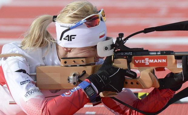 Krystyna Guzik zajęła 3. miejsce w sprincie biathlonowego Pucharu Świata!