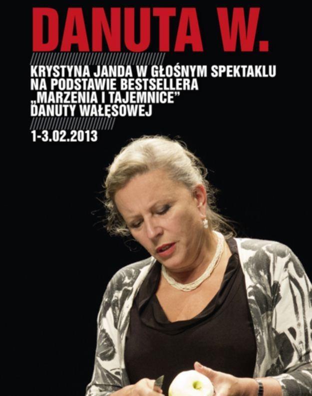 Krystyna Jamda w nowej roli, czyli jako Danuta W. /