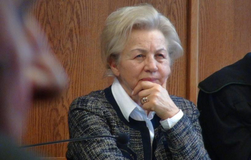 Krystyna Kornicka-Ziobro podczas procesu /Marcin Banasik /East News