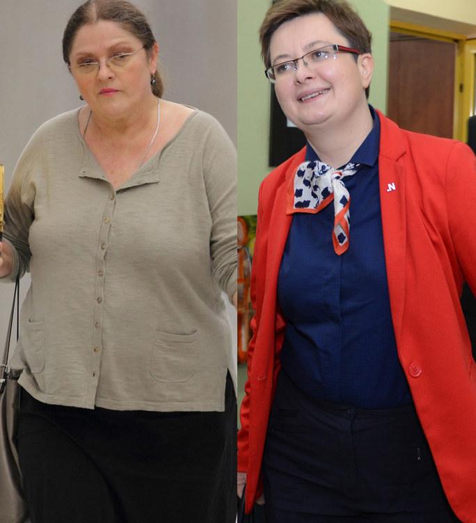 Krystyna Pawłowicz i Katarzyna Lubnauer darzą się sympatią? /Stanisław Kowalczuk, Adam Staskiewicz /East News