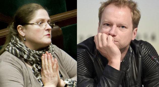 Krystyna Pawłowicz i Maciej Stuhr wymienili uprzejmości na Facebooku /AKPA / Krystian Dobuszyński /Reporter