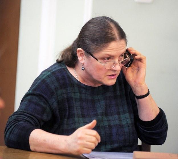 """Krystyna Pawłowicz na """"gorącej linii"""" /Jan Bielecki /East News"""