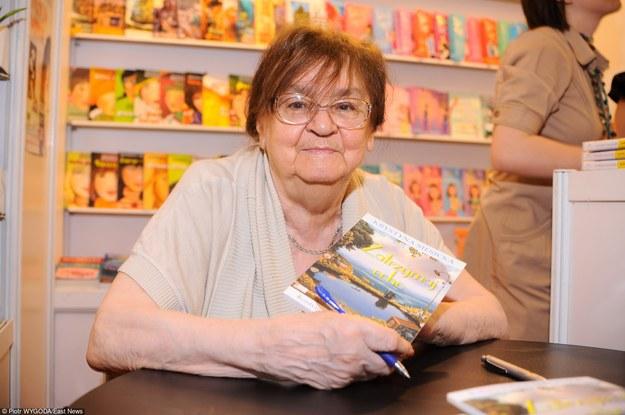 Krystyna Siesicka podczas Targów Książki w Warszawie w 2010 roku /East News