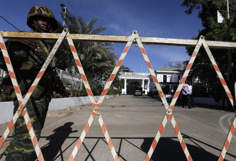 Kryzys polityczny w Gambii /LEGNAN KOULA /PAP/EPA