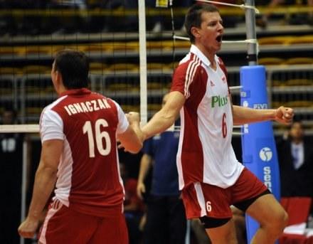 Krzysztof Ignaczak i Bartosz Kurek /AFP