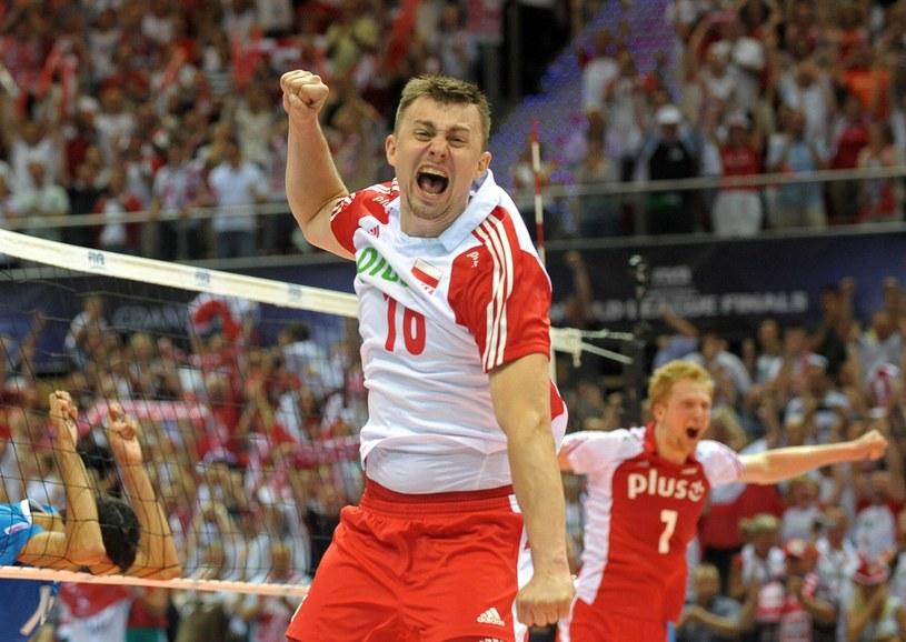 Krzysztof Ignaczak, libero reprezentacji Polski /AFP