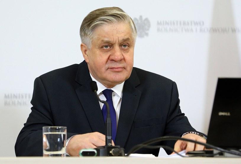 Krzysztof Jurgiel - Minister Rolnictwa i Rozwoju Wsi /Mariusz Grzelak /Reporter