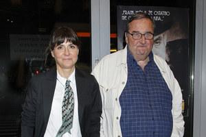 Krzysztof Kowalewski (75 lat) i Agnieszka Suchora (44 lata) /   /AKPA