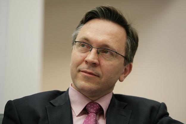 Krzysztof Rybiński, rektor Uczelni Vistula. Fot. Stefan Maszewski /Reporter