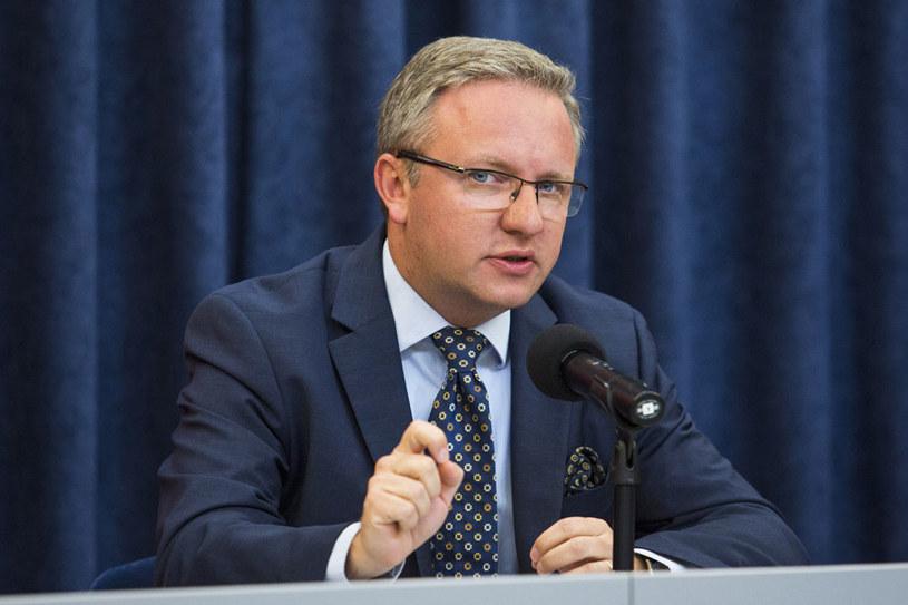 Krzysztof Szczerski gościem RMF FM /Andrzej Hulimka  /Reporter