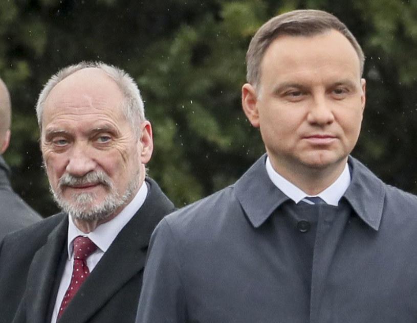 Krzysztof Szczerski: Wiemy nie od dziś, że relacje między ministrem obrony narodowej a prezydentem są niełatwe /Andrzej Iwańczuk /Reporter