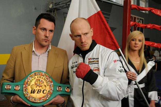 Krzysztof Włodarczyk broni pasa WBC/fot. Tytus Żmijewski /PAP