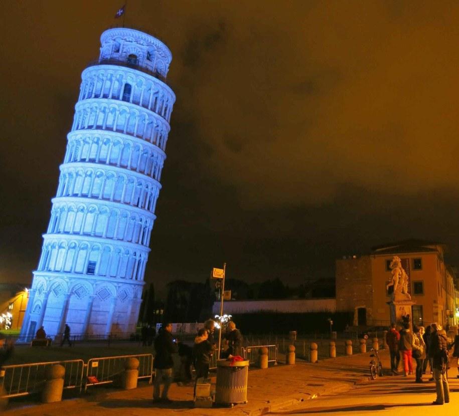 Krzywa wieża w Pizie /FRANCO SILVI  /PAP/EPA