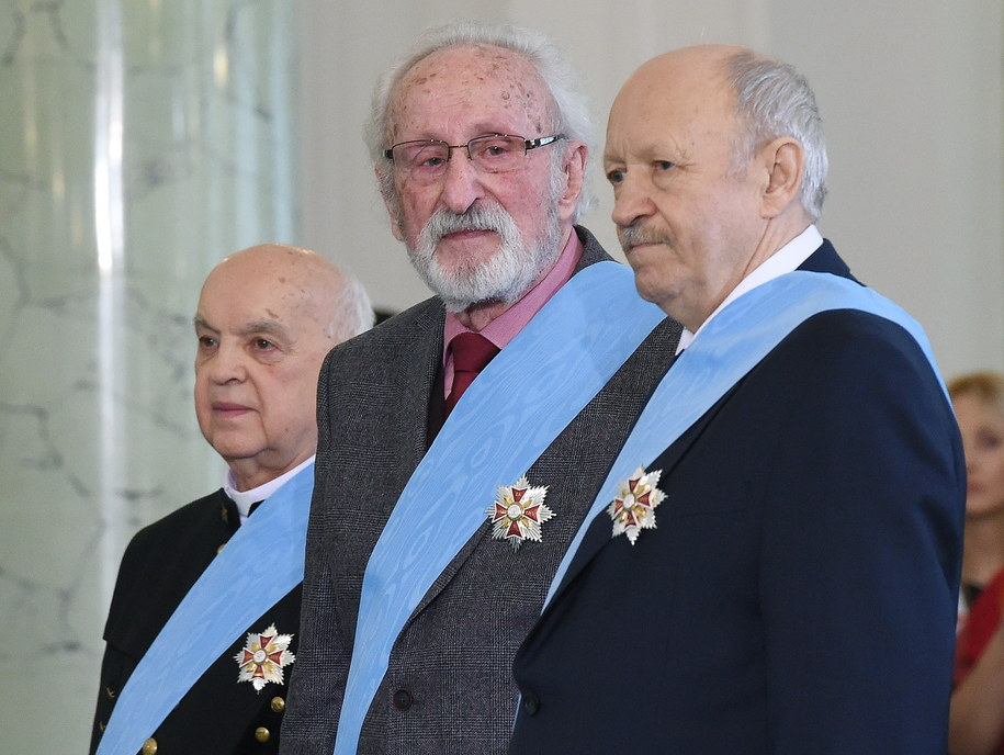 Ks. Bernard Czernecki, Franciszek Pieczka, Andrzej Pityński /Radek Pietruszka /PAP