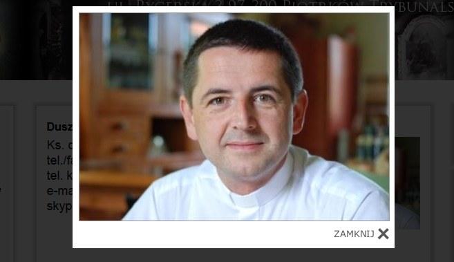 Ks. Ireneusz Bochyński, fot. http://www.upanien.parafia.info.pl /