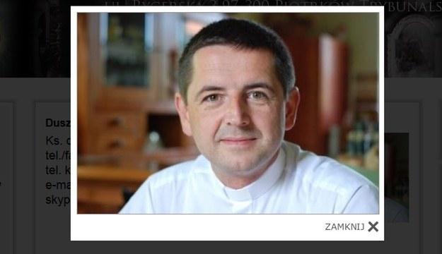 Ks. Ireneusz Bochyński/fot. http://www.upanien.parafia.info.pl. /