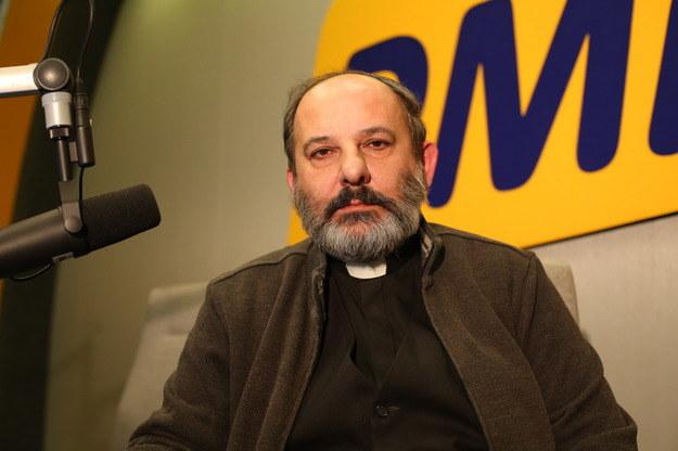Ks. Tadeusz Isakowicz-Zaleski /Jacek Tomkowicz /RMF FM