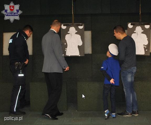 Ksawery w tomaszowskiej komendzie /Policja