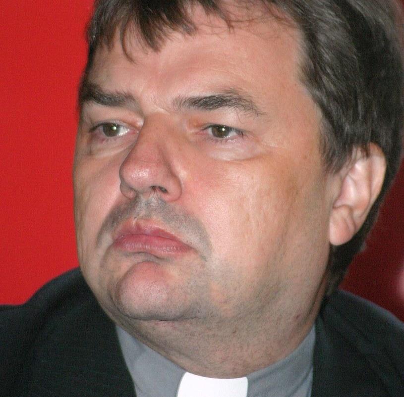 Ksiądz Paweł Bortkiewicz /Grzegorz Kozakiewicz /Agencja FORUM