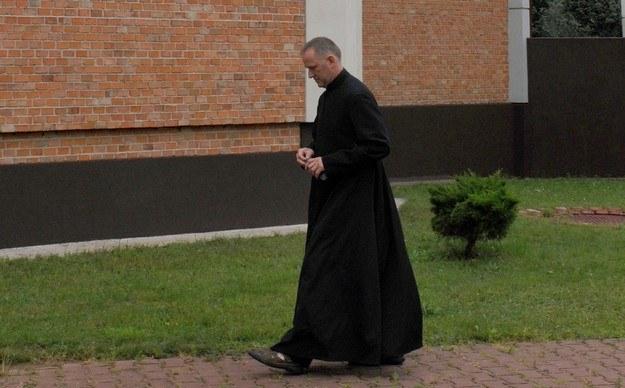 Ksiądz Wojciech Lemański. /Wojtek Laski /East News