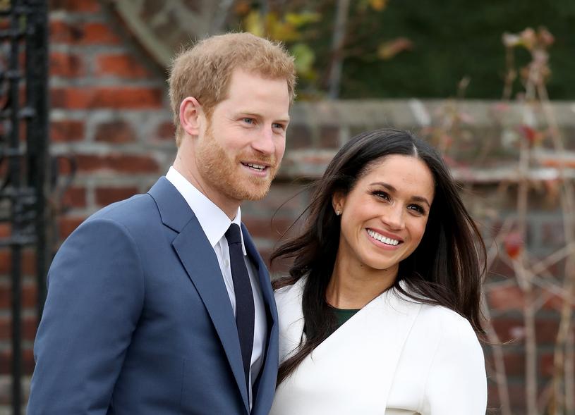Książę Harry i jego narzeczona Meghan Markle /Chris Jackson /Getty Images