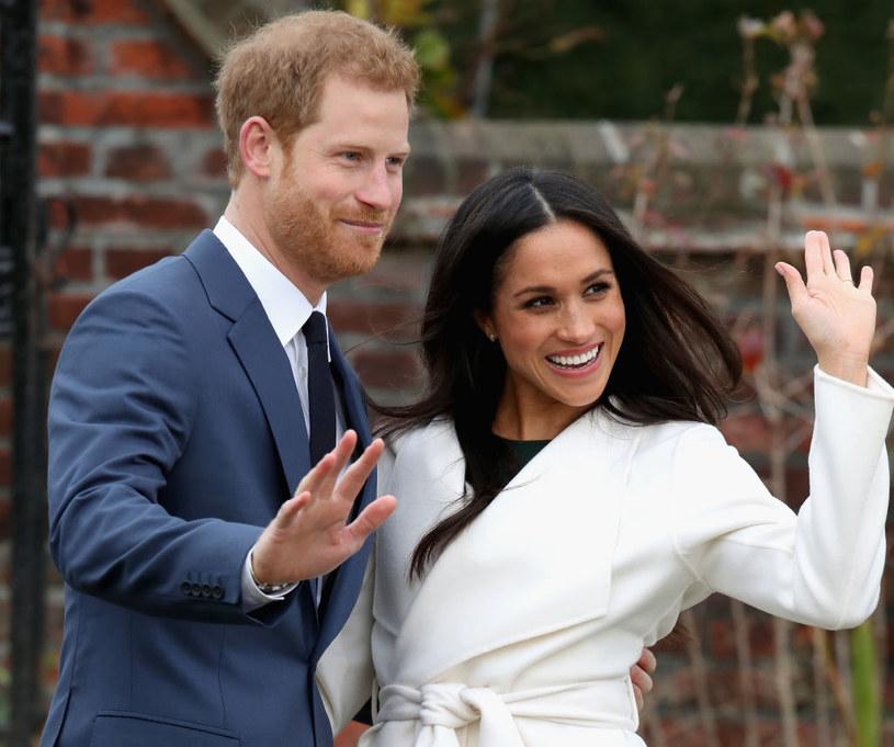 Książę Harry i Meghan Markle ogłosili swoje zaręczyny w listopadzie 2017 roku /Getty Images
