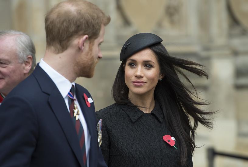 Książę Harry i Meghan Markle w Londynie - 25 kwietnia 2018 r. /Eddie Mulholland - WPA Pool /Getty Images
