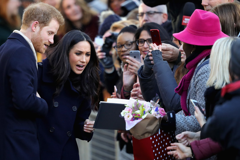 Książę Harry i Meghan Markle /Christopher Furlong /Getty Images