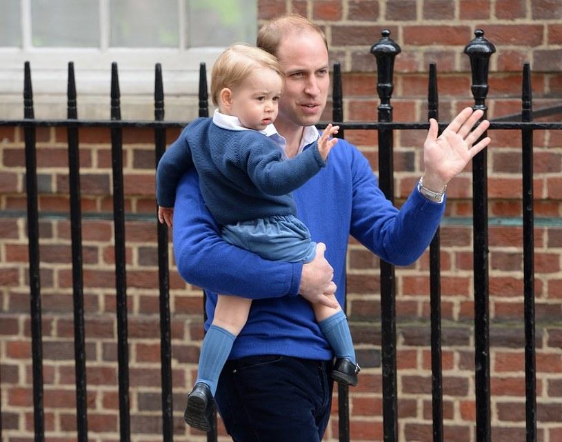 Książe Jerzy powitał swoją siostrę jeszcze w szpitalu /Stephen Lock  /East News