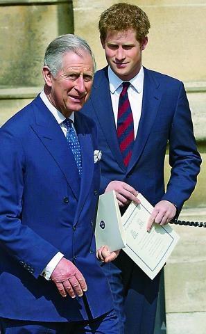 Książę Karol cieszy się, że zostanie dziadkiem. Zadowolony jest też Harry, mimo  że dziecko brata przesunie go w kolejce do tronu. /East News Poland SP.Z O.O.