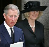 Książę Karol z Camillą Parker /AFP