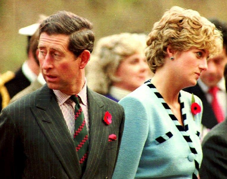 Książę Karol z księżną Dianą /AFP