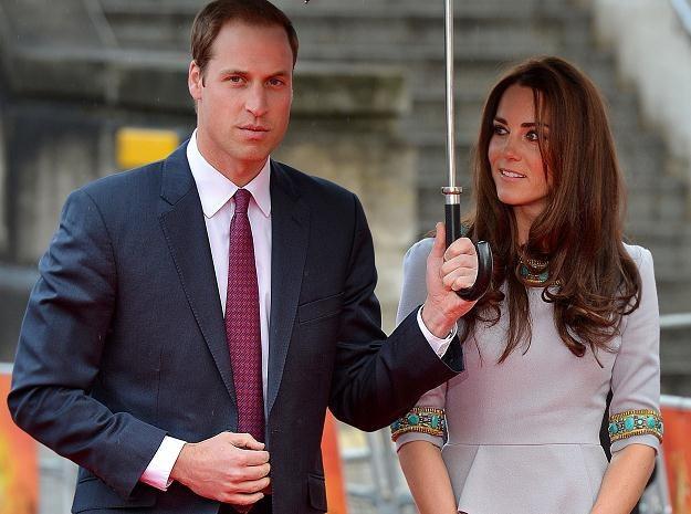 Książę William i księżna Catherine /AFP